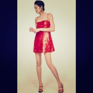 Zara Mini Sequins Dress